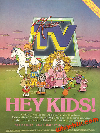 Rainbow Brite TV Show Ad