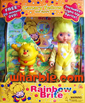 New Canary Yellow Doll & Light-Up Sprite