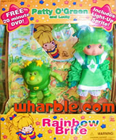 New Patty O'Green Doll & Light-Up Sprite