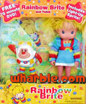 New Rainbow Brite & Light-Up Sprite