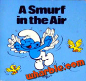 A Smurf in the Air