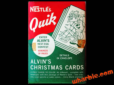 Alvin & The Chipmunks Christmas Cards