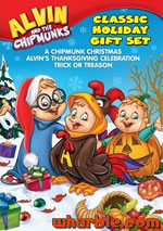 Alvin & the Chipmunks: Classic Holiday Gift Set
