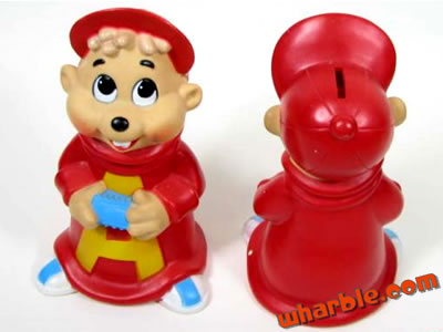 Alvin & The Chipmunks Coin Bank