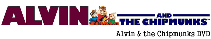 Alvin & the Chipmunks DVD