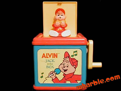 Alvin & The Chipmunks Jack-in-the-Box