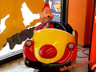 Alvin & the Chipmunks Kiddie Ride