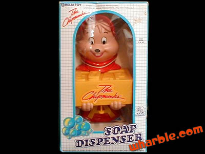 Alvin & The Chipmunks Soap Dispenser