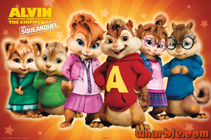 Alvin & the Chipmunks: The Squeakquel Poster