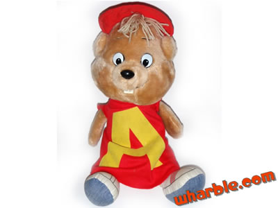 Alvin & The Chipmunks Talking Doll