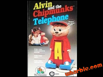 Alvin & The Chipmunks Telephone