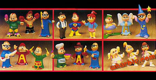 The Chipmunks Play Figures Set