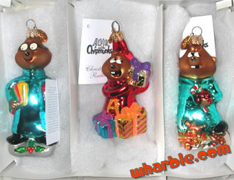 Alvin & the Chipmunks Ornaments