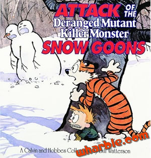 Calvin and Hobbes Book - Attack of the Deranged Mutant Killer Monster Snow Goons