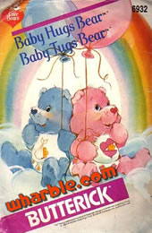 Baby Hugs & Tugs Bear Pattern