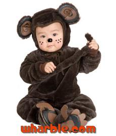 Baby Monchhichi Costume