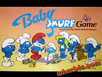 Baby Smurf Game
