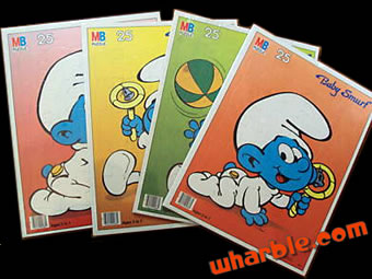 Baby Smurf Puzzles