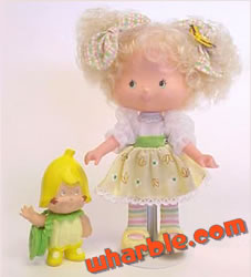 Banana Twirl Berrykin Doll