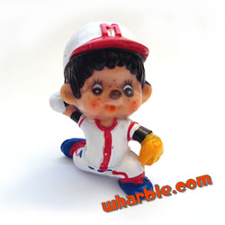 Baseball Pitcher Monchhichi