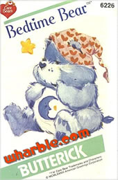 Bedtime Bear Pattern