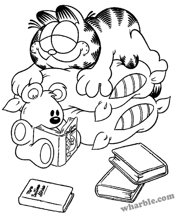 bed time coloring pages - photo #16