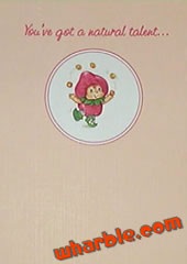Strawberrykin Card