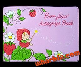 Berrykins Autograph Book