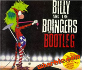 Bloom County Book - Billy and the Boingers Bootleg