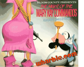 Bloom County Book - The Night of the Mary Kay Commandos