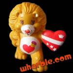 Brave Heart Lion Care Bear Cousin Figure