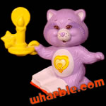 Bright Heart Raccoon Care Bear Cousin Figure