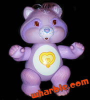 Poseable Bright Heart Raccoon