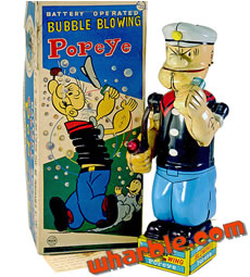 Popeye Bubble Blower