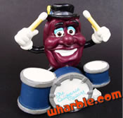 Drummer California Raisin Figure