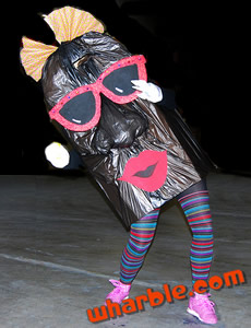 California Raisin Homemade Costume