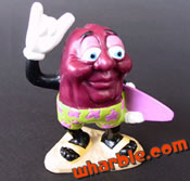 Surfer California Raisin Figure