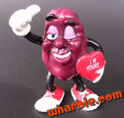Valentine California Raisin Figure