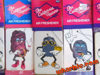 California Raisins Air Freshener