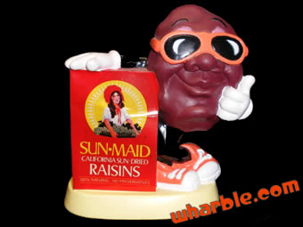 California Raisins Coin Bank