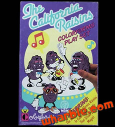 California Raisins Colorforms