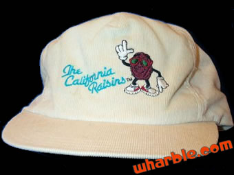 California Raisins Hat
