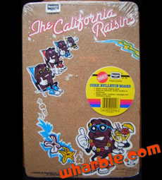 California Raisins Cork Board