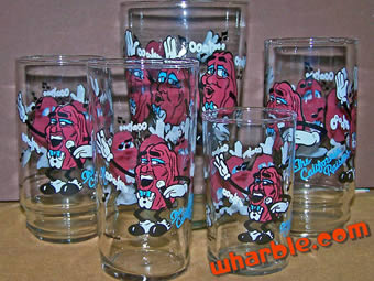 California Raisins Glasses