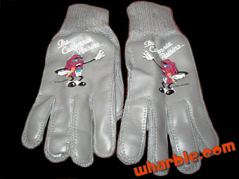 California Raisins Gloves