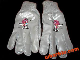 California Raisins Gloves