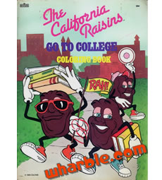 California Raisins Coloring Book