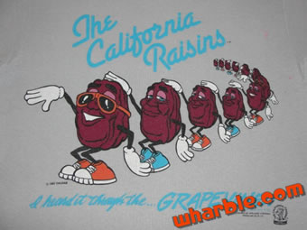 California Raisins T-Shirt