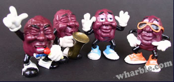California Raisins: Hardee's Series 1