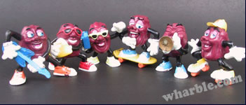 California Raisins: Hardee's Series 2